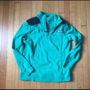 Vinyard Vines Zip Pullover - Women's Small EUC